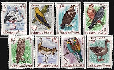 HUNGARY-1968. BIRDS / INTL.BIRD PRESERVATION CONGR. CPL.SET MNH MI:2398-2405.
