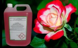 wholesale cleaning products floral disinfectant cheap 5 litre uk delivery available vat included