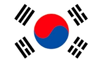Südkorea Fahne Fahnen Flagge Asien WM 0,90x0,60m NEU
