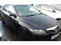 Mazda 6 Black 1.8 Petrol Drives away, No MOT, Spare/Repair, 1 previous owner