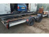 car trailer twin axel brian james