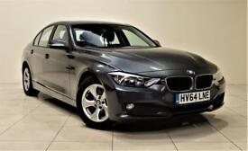 BMW 3 SERIES 2.0 320D EFFICIENTDYNAMICS 4d AUTO 161 BHP (grey) 2014