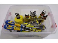 JOBLOT OF TOOLS 24 ASSORTED C.K TOOLS HOLESAWS DRILL BITS WRENCHES ALL BRAND NEW