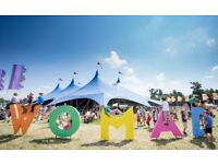 2 adult and 2 child (under 13) 4-day tickets (non-camping) to WOMAD Charlton Park
