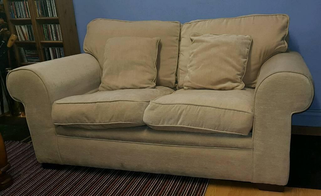 Small 2 Seater Sofa Cream In Ballymena County Antrim