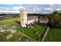 Get the ultimate wedding photographs using drone photography!