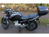 2013 Yamaha ybr125 125cc motorbike