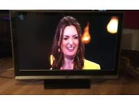 """42"""" JVC TV FREEVIEW HDMI CAN DELIVER."""