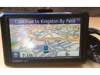 5 inch Garmin Nuvi 1400 Automotive GPS Receiver Sat Nav with UK and ROI Maps Navigator