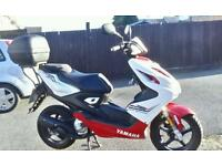 Yamaha aerox 50cc, only done 850 miles