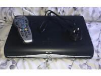 SKY HD Box, power lead & controller