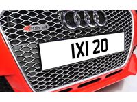 IXI 20 1980's Dateless Personalised Number Plate Audi BMW Ford Golf Mercedes Kia Vauxhall