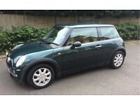 AUTOMATIC 2002 MINI COOPER LOW MILEAGE SERVICE HISTORY LEATHER TRIM AIR CONDITIONING AUTO COOPER ONE