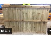 Brand new fence panels for sale