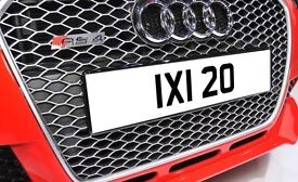 IXI 20 Rare 1980s Dateless Personalised Number Plate Audi BMW Ford Golf Mercedes Kia Vauxhall