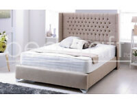 ***BRAND NEW / / PYRO BEDS LTD**BRAND NEW DOUBLE BED WITH SUPREME MATTRESS ** UK DELIVERY ****