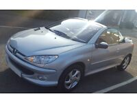 Peugeot 206CC ALLURE Convertible 12 Months MOT, FULL SERVICE HISTORY, LOW MILEAGE- GREAT CAR 4SPRING