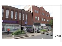 Prime High Street Retail in Crewe City Centre(Ground 580 sq ft and first floor 1,525 sq ft)