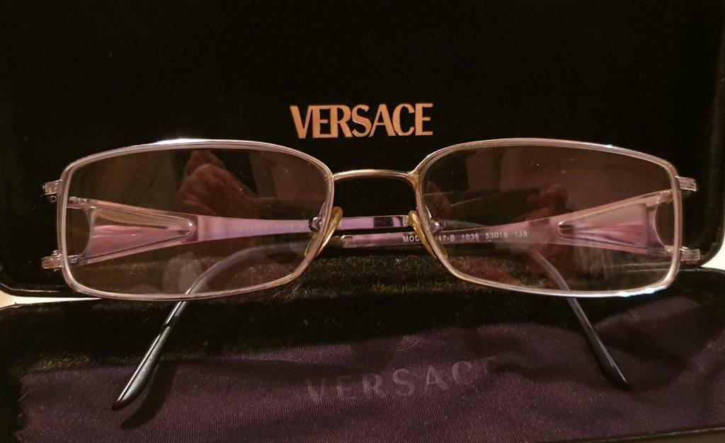 8b642186b2e Versace reading glasses frame