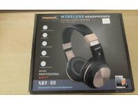 Aiwbo bluetooth wireless headphones {pink}