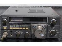 YAESU FT-77 HF RADIO spares or repair or swap