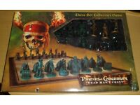 PIRATES OF THE CARIBBEAN COLLECTORS CHESS SET...DEAD MANS CHEST