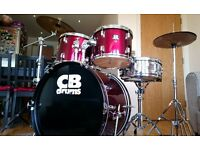 CB Drum kit in Great Condition
