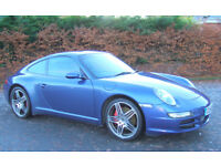 Porsche 911 997 3.8 Carrera 4S - 2007 Model Year - 6 Speed Manual, Sun Roof, Sports Exhaust..