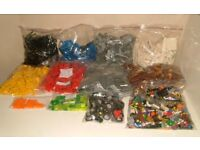 LEGO OVER 5.5 KILO'S 13 SORTED BAGS