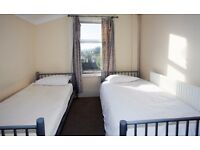 Twin room to share with another guy already in. £120 per week, bills included Leyton