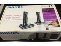 Philips Digital Phone with Answering Machine.