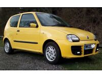 FIAT SEICENTO SPORTING 2003, MOT mid AugustFIAT SEICENTO SPORTING 2003, 72000 miles, MOT mid August