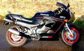 Kawasaki GPZ 1000RX A2 Swap or Part Ex Sports Tourer 1987