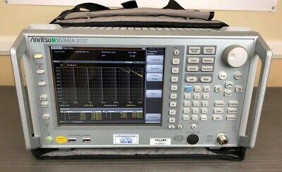 Anritsu Ms2691a 50hz - 13.5ghz Vector Signal Analyzer Generator - Loaded Cald