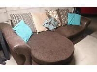 4 & 2 seater sofa