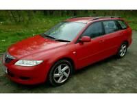 Mazda 6ts estate Automatic...towbar/twin electrics...MOT FAIL.