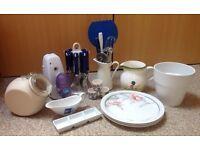 Kitchen Utensils ~ Crockery ~ Cutlery Items Bundle