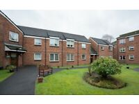 Smart, modern flat available to rent now at friendly sheltered development in Paisley