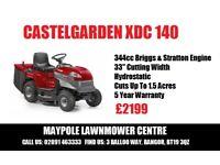 NEW Castelgarden Ride On Briggs & Stratton Engine - 5 Year Warranty