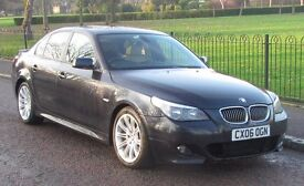 2006 (06) BMW 5 SERIES 530D M SPORT 3.0 AUTO | 3L BLACK | 1 OWNER FROM NEW | NEW MOT | NO HPI