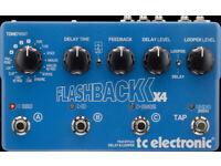 TC Electronic Flashback x4 delay with psu