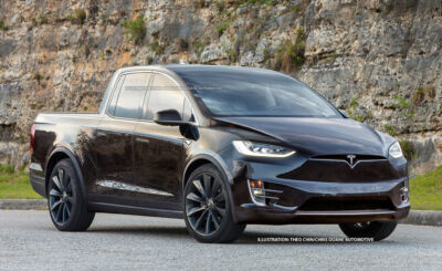 Tesla Pick Up Variante 2