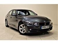 BMW 3 SERIES 2.0 320D EFFICIENTDYNAMICS 4d AUTO 161 BHP + SAT N (grey) 2014