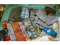 Large bundle of boys clothes age 3-5
