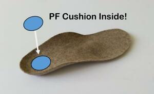 PF heel comfort orthotic by Chenna Baree. All the features of our hiking and walking insole for heel pain.