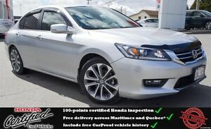 2014 Honda Accord Sport, Back up Camera, Bluetooth, One Owner !!
