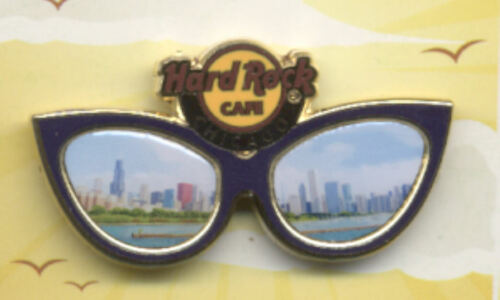 Hard Rock Cafe Chicago Regional Sunglasses Series Pin