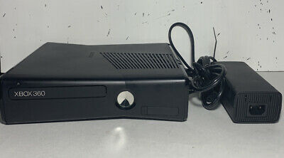 Xbox 360 Slim Console System 4GB Console With Cords! Tested And Works!