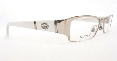 GUCCI Women's Frame Glasses GG2910 Light Gold Ice 52-17-135 MADE IN ITALY - - Gucci Frame