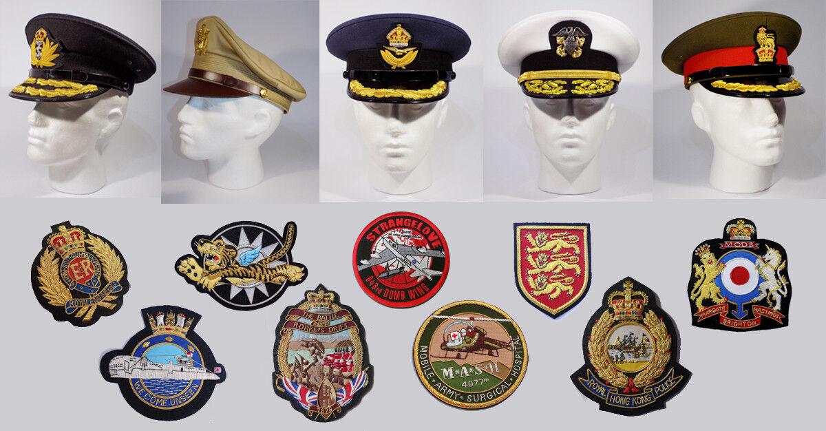 Caps and Blazer Badges
